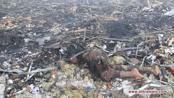 مجزرة صنعاء احدث مجازر آل سعود