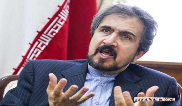 إيران: تصريحات ولي ولي العهد السعودي تدل على فهمه الخاطئ لأوضاع المنطقة وهي وثيقة واضحة على نشر الإرهاب وإثارة التوتر
