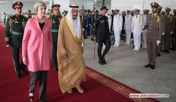 """""""إندبندنت"""": تيريزا ماي تسترت على تقرير يثبت تمويل السعودية للإرهاب"""