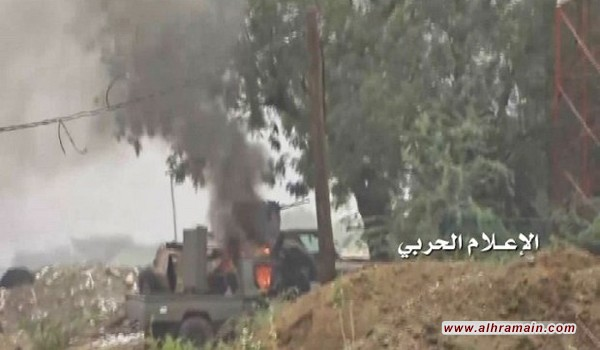 """جيزان: مقتل وجرح جنود سعوديين بعملية للجيش اليمني و""""اللجان الشعبية"""""""