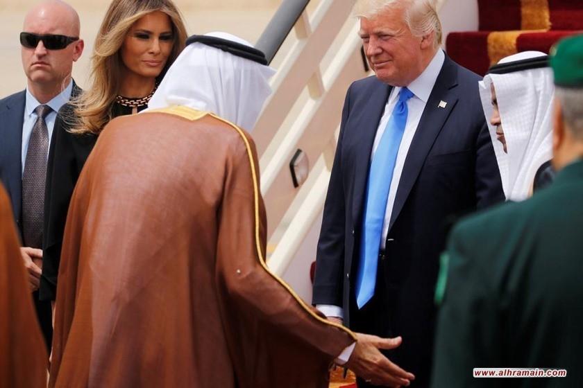 """النظام السعودي يفتح """" خزائن ثروات """" البلاد للولايات المتحدة مقابل الحماية .. والمعارضة تدعو لاسقاط نظام ال سعود"""