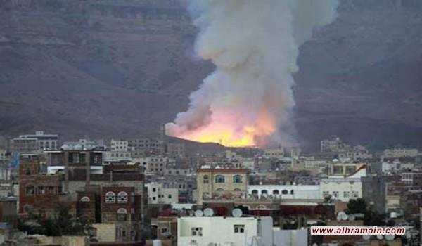 مقاتلات التحالف تقصف مواقع للحوثيين في محافظة حجة