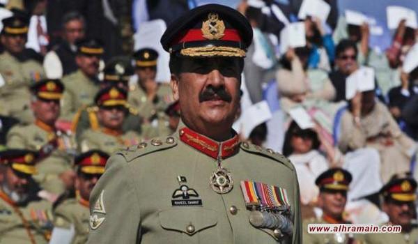 """""""ديلي تايمز"""": الجنرال شريف سيقود """"التحالف العسكري"""" السعودي"""