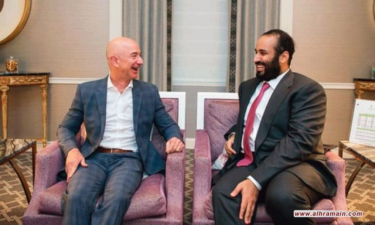 """الغارديان: هاتف رئيس """"أمازون"""" تعرض لقرصنة من قبل ولي العهد السعودي في عام 2018"""
