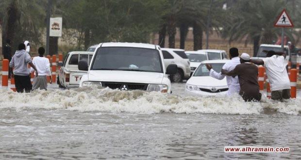 وفاة مواطن بسبب السيول في القنفذة