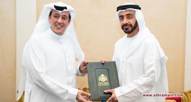 تركي الدخيل يبدأ عمله الدبلوماسي بالتملق والمجاملة لمشايخ الإمارات
