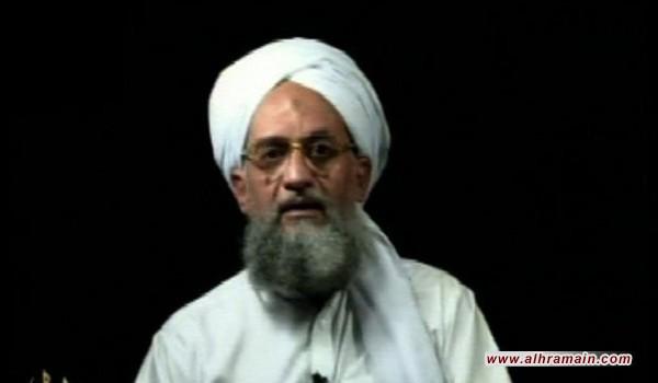 """الظواهري يتهم السعودية باغتيال قائد """"جيش الإسلام"""" في سوريا"""