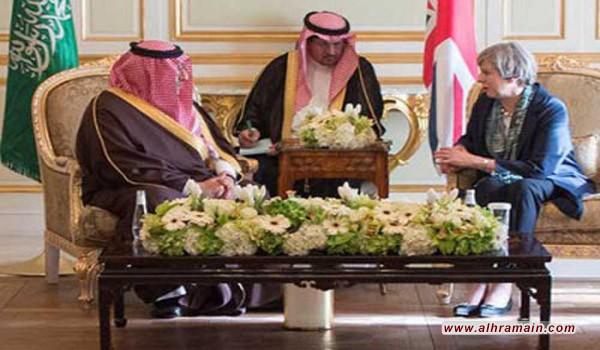 وزير الداخلية السعودي يبحث مع رئيسة وزراء بريطانيا مكافحة الإرهاب
