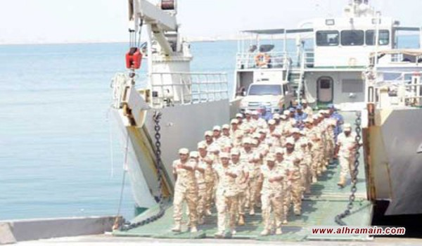 إنطلاق مناورات عسكرية سعودية بحرينية في مياه الخليج