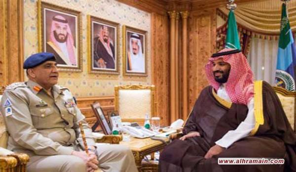 بن سلمان يبحث مع قائد جيش باكستان العلاقات العسكرية