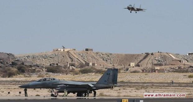 """تجدد الهجمات اليمنية على """"مواقع عسكرية حساسة"""" في """"قاعدة الملك خالد الجوية"""""""