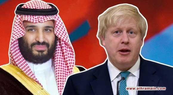 """جونسون يؤكد لولي العهد السعودي أهمية الرد الجماعي على هجوم """"أرامكو"""""""