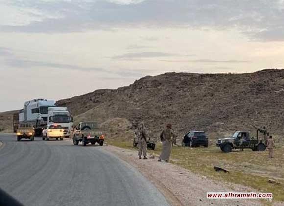 """إعطاب مدرعة سعودية بمواجهات مع مسلحين قبليين في """"المهرة"""" قرب الحدود اليمنية مع سلطنة عمان"""