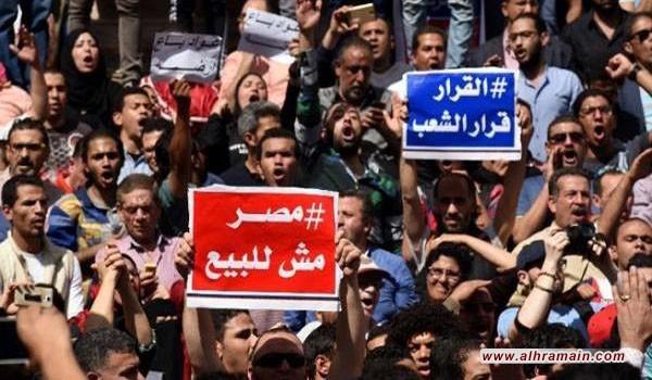 المصريون لإبن سلمان: تيران وصنافير مش للبيع!
