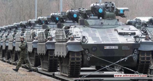 برلين توافق على صادرات أسلحة تزيد قيمتها على مليار يورو لدول خليجية