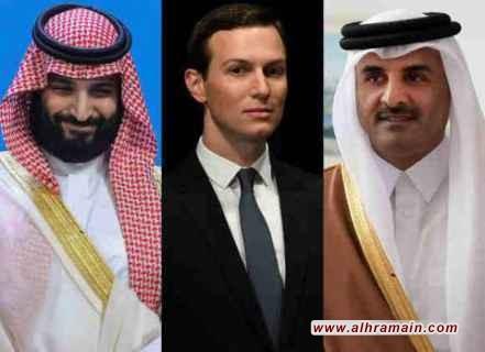 """دراسةٌ إسرائيليّةٌ تصِف كوشنير بالـ""""بطل المجهول"""" لإشرافه شخصيًا على المصالحة السعوديّة القطريّة و""""المُحرِّك الرئيسيّ لتغيير الشرق الأوسط بما في ذلك اتفاقيات التطبيع بين إسرائيل ودولٍ عربيّةٍ"""""""