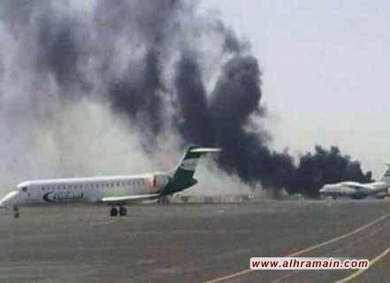 """الحوثيون: اصبنا """"هدفا هاما"""" في مطار أبها السعودي ردا على ضربات التحالف.. ولا معنى لأي تصريحات دون خطوات عملية تقود إلى سلام حقيقي في اليمن"""