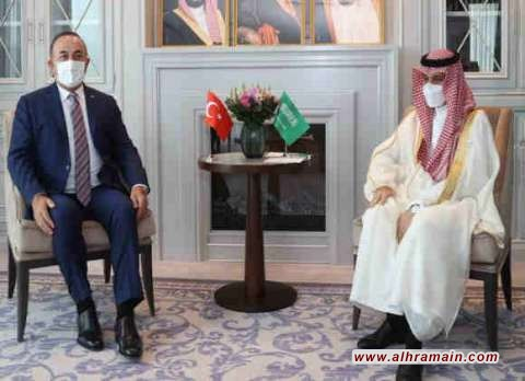 وزيرا الخارجية السعودي والتركي يبحثان المستجدات على الساحتين الإقليمية والدولية