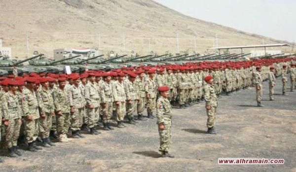 ملابس عسكرية أشبه بملابس الحرس الجمهوري تصل لمرتزقة العدوان السعودي في نهم؟!