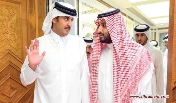 """أحمد الجار الله يهذي: اتصال أمير قطر بـ""""ابن سلمان"""" تم بدون علم أمير الكويت"""