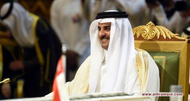 """صحيفة سعودية تتطاول على أمير قطر وتنعته بـ """"أبرهة الدوحة"""""""
