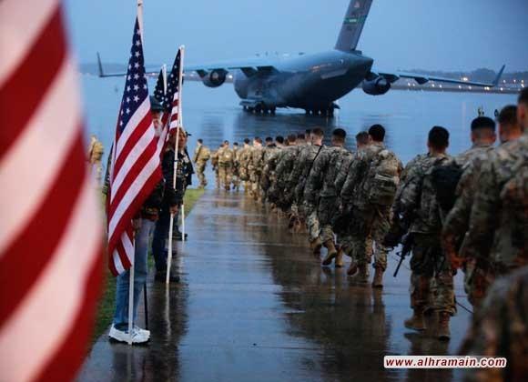 """2200 من قوات المارينز الأمريكية تتجه إلى الشرق الأوسط على متن البارجة الحربية """"يو اس اس باتان"""".."""