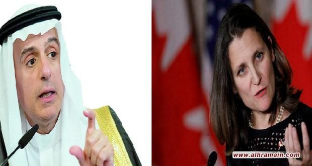 مصادر دبلوماسية: المعارضون السعوديون في كندا من أسباب تصعيد السعودية