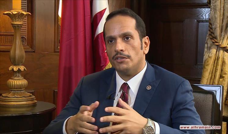 وزير الخارجية القطري: السعودية تمارس «البلطجة» على الدول الصغيرة