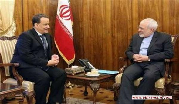 خلال مباحثاته مع ولد الشيخ.. ظريف يؤكد على ضرورة إنهاء الفاجعة الإنسانية والوصول الى حلول سياسية في اليمن