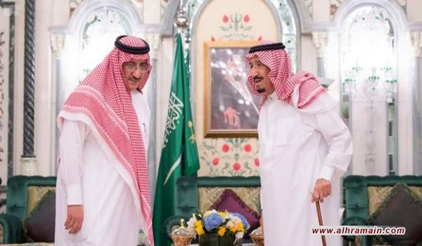 الرياض تعترف بالرعاية الرسمية لتجارة المخدرات باتهام محمد بن نايف بالإدمان