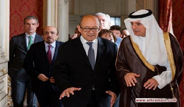 في محاولة جديدة لحل الأزمة الخليجية .. وزير الخارجية الفرنسي يحل بالسعودية في زيارة هي الأولى له إلى المملكة ضمن جولة له في المنطقة