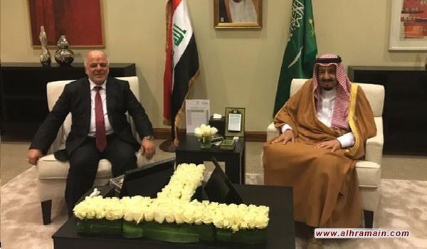 سلمان يلتقي العبادي على هامش القمة العربية بالأردن لأول مرة منذ تحسن العلاقات..