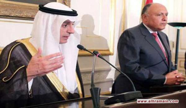 مباحثات مصرية سعودية تتناول تعزيز العلاقات الثنائية ومكافحة الإرهاب