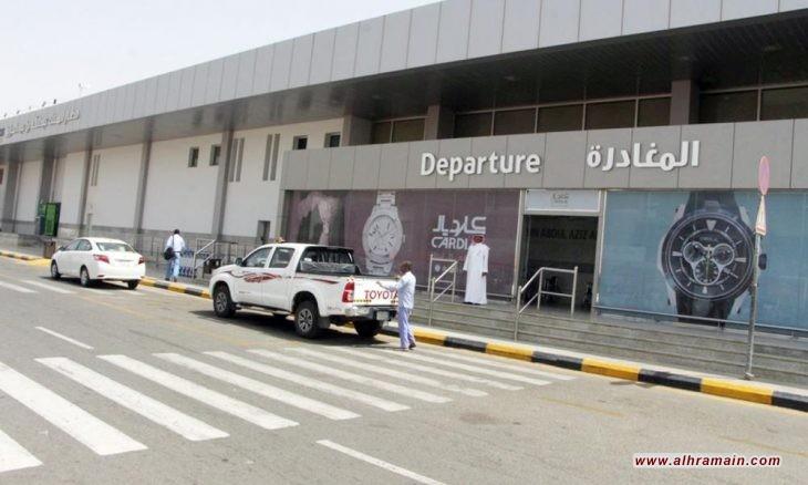 الحوثيون يهاجمون مطار جازان السعودي بطائرة مسيرة