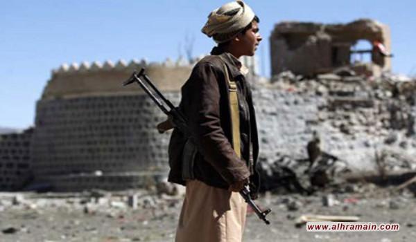 """الحوثيون يعلنون إسقاط طائرة """"تجسس″ للتحالف شمال غرب العاصمة اليمنية في وقت تشهد فيه المناطق على الحدود بين اليمن والسعودية معارك عنيفة.."""