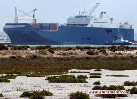 """سفينة الشحن السعودية """"بحري تبوك"""" غادرت فرنسا محملة مولدات كهرباء وليس أسلحة وأنباء عن تغيير وجهة الحاويات بعد تغيير في الاستراتيجية في رأس هرم الدولة الفرنسية"""