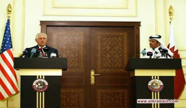 تيلرسون يعتبر أن أطراف أزمة الخليج غير مستعدة للحوار ووزير خارجية قطر يؤكد: أي تأجيل للقمة الخليجية سيكون بسبب تعنت دول الحصار