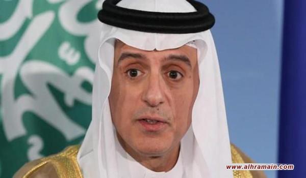 الجبير يلمح إلى تصعيد عسكري ضد قطر