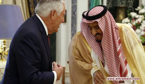 تيلرسون ضغط على السعودية لمواجهة التأثير الإيراني في العراق