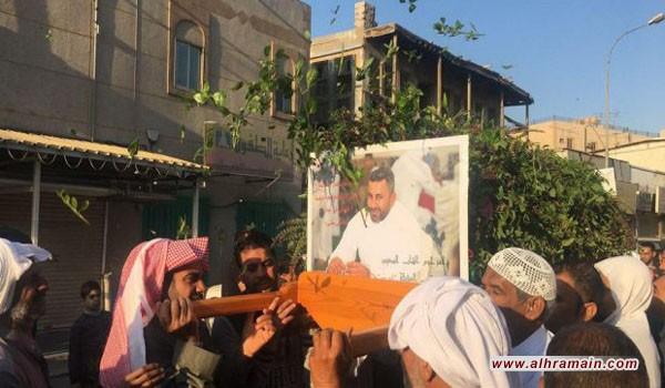 العوامية وتاروت تحييان السنوية الأولى لشهيدي التعذيب محمد الحساوي وجابر العقيلي