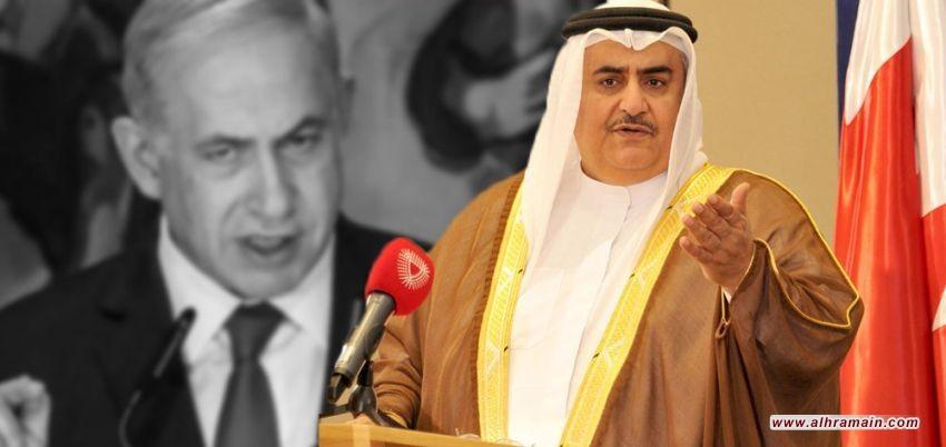 وزير خارجية البحرين: الشعب الإسرائيلي بحاجة لراحة البال
