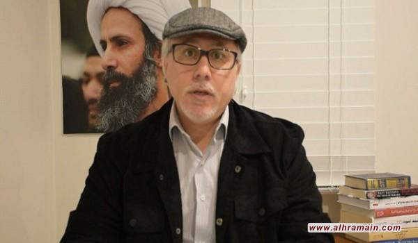الناشط الشاخوري: النظام السعودي يحضر لاعدامات جديدة