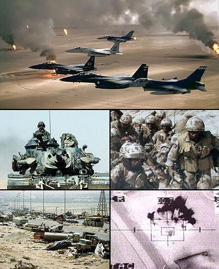 الإستراتيجيّة السياسيّة والعسكرية لحربِ الخليج
