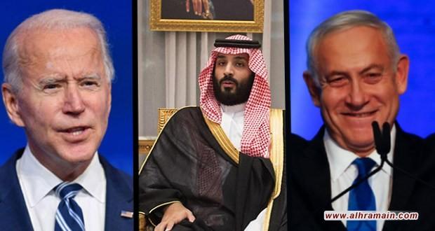"""""""وول ستريت جونال"""": محمد بن سلمان سيتم صفقة الأسلحة مع """"إسرائيل"""" في عهد بايدن"""