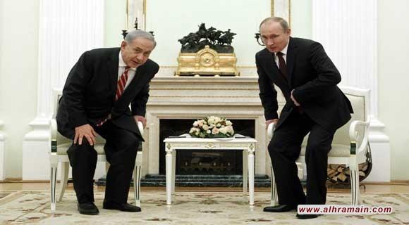 مصادر أمريكيّة وإسرائيليّة رفيعة: نتنياهو سيعرض اليوم على بوتين صفقةً إسرائيليّةً-سعوديّةً-إماراتيّةً بموجبها تُلغى العقوبات الأمريكيّة على روسيا مُقابل إخراج إيران من سوريّة