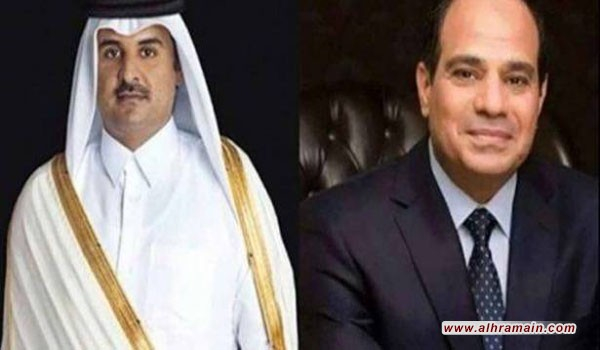 السيسي يهدد بقصف الدوحة بالطيران والسبب؟؟