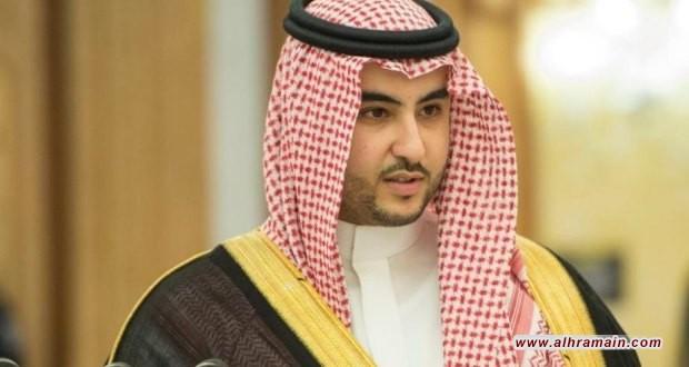 """خالد بن سلمان يقول إن المملكة """"تنظر بإيجابية"""" إلى مبادرة التهدئة اليمنية"""