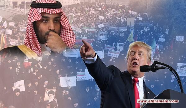 «هاف بوست»: دعم «ترامب» و«بن سلمان» يضر المحتجين في إيران أكثر مما ينفعهم