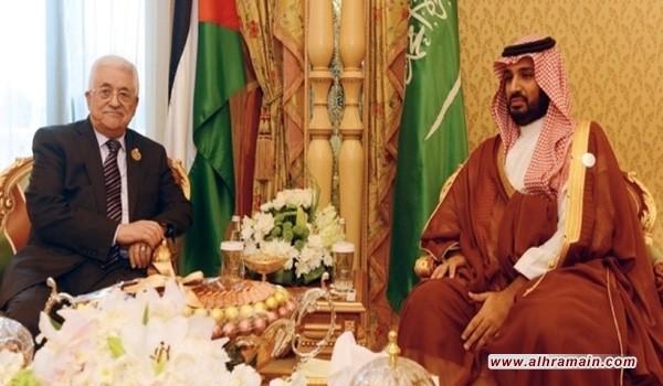 «بن سلمان» لـ«عباس»: قرار «ترامب» لن يمس بحقوق الشعب الفلسطيني