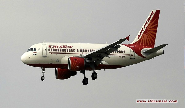 طيران الهند يبدأ عبور السعودية إلى تل أبيب 22 مارس